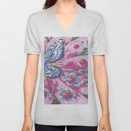 Butterfly Garden II Unisex V-Neck