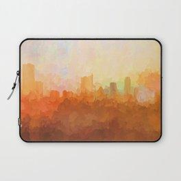 Austin, Texas Skyline - In the Clouds Laptop Sleeve