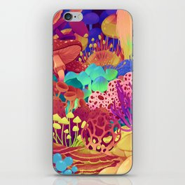 Shrooms iPhone Skin