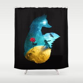The Most Beautiful Thing (dark version) Shower Curtain