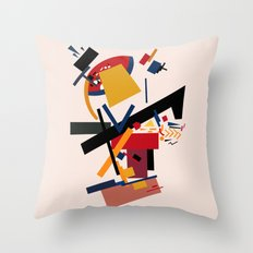 TOO MANY THOUGHTS Throw Pillow