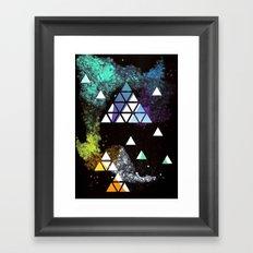 Spaceangles Framed Art Print