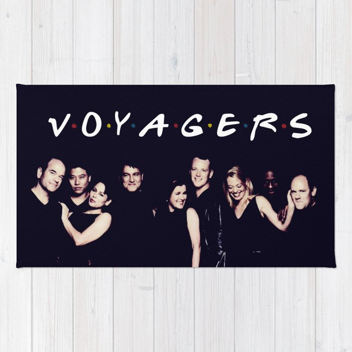 Friends and Voyagers Rug