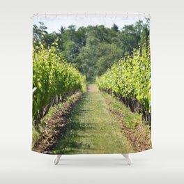 Vineyard Path Shower Curtain