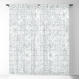 Be square. Be Serene. Be present. Blackout Curtain