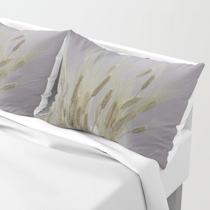 wheat ears in the farm Pillow Sham