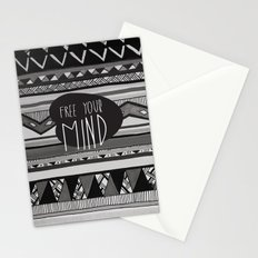 FREE YOUR MIND Stationery Cards