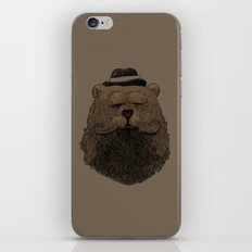 Grizzly Beard iPhone & iPod Skin