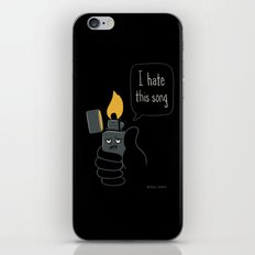 Mad Music Lighter iPhone & iPod Skin