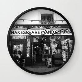 Shakespeare Love Wall Clock