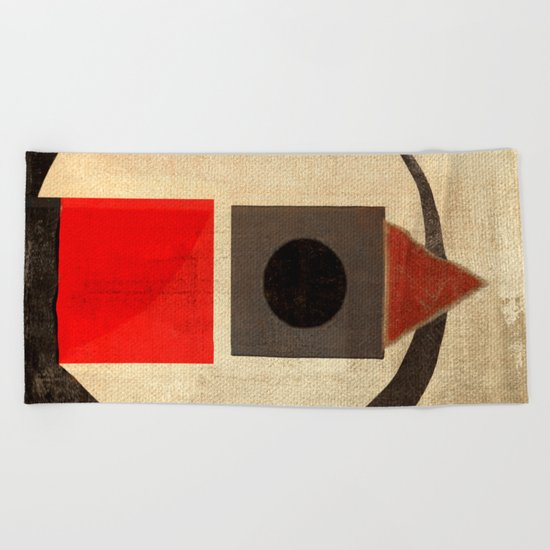 Sushi Bird Beach Towel