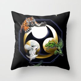 Uechi poster Throw Pillow