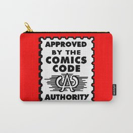 Approved by the Comics Code Carry-All Pouch