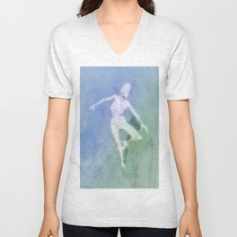 The Dancer by MB Unisex V-Neck