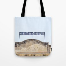 Metronom Tote Bag