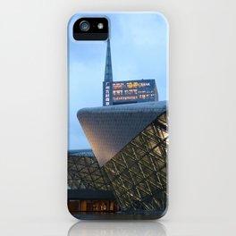Zaha HADID architect   Guangzhou Opera House iPhone Case