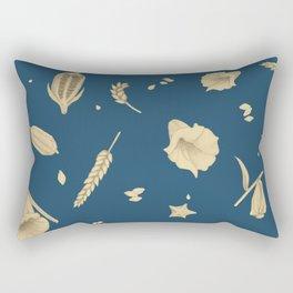 Floral Mesopotamia Rectangular Pillow