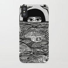 Voyeur iPhone X Slim Case
