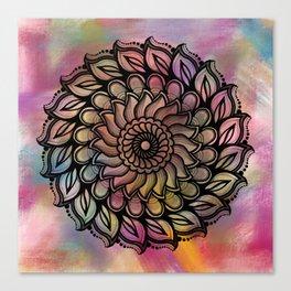 Wheeler Mandala Canvas Print