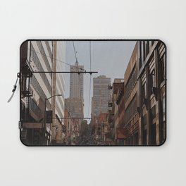 you know where the city is Laptop Sleeve