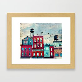 A North Avenue Framed Art Print