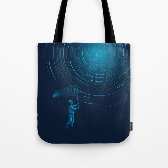 Catch a Star trail Tote Bag