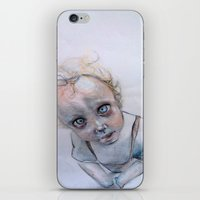 child iPhone & iPod Skins featuring Child by Haram Ahn