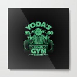Dagobah Gym Metal Print