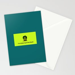 Trying to get that Oprah Stationery Cards