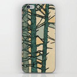 Green Trees iPhone Skin