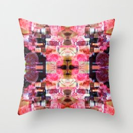Cloudless Soulful Throw Pillow