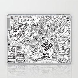 Cleveland Map Laptop & iPad Skin