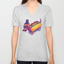 Chicago Dog Unisex V-Neck