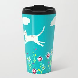 Spring Frolic Metal Travel Mug