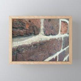 Bricks Bricks Bricks Framed Mini Art Print