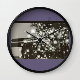 Lights! Wall Clock