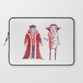 King and Queen Laptop Sleeve
