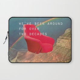 We've been around for over two decades (Red chair and the Grand Canyon) Laptop Sleeve