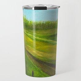 Fence Line Travel Mug