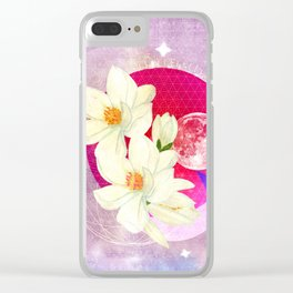 We are made of stars Clear iPhone Case