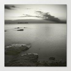 Aguas calmas Canvas Print