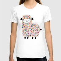 sheep T-shirts featuring Bubble Sheep by Andy Westface
