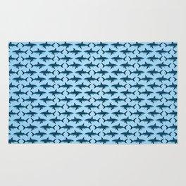 Pattern: Great White Shark  ~ Light Blue ~ (Copyright 2015) Rug