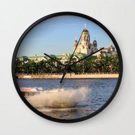 Yekaterinburg, Iset River Wall Clock