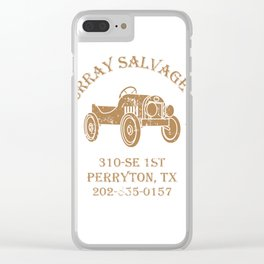 Murray Salvage Co. Clear iPhone Case