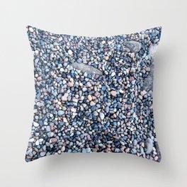 Rocks of Nisqually No. 2  Throw Pillow