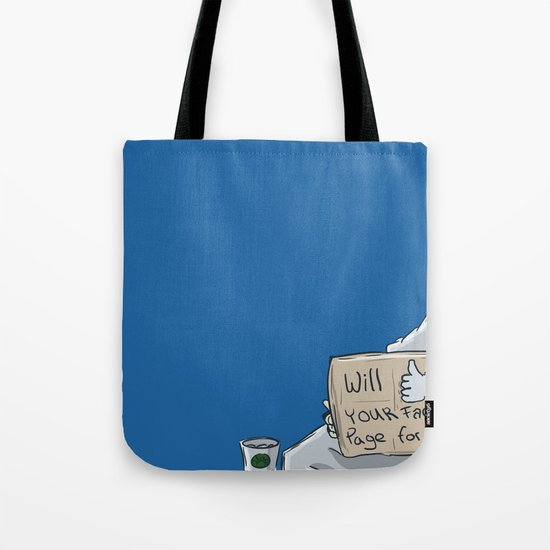 Will like your Facebook page for € Tote Bag