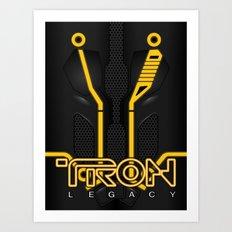 Tron Legacy, Clu Art Print