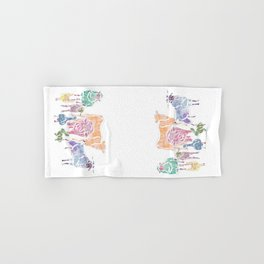 The Colourful Farm Sanctuary Hand & Bath Towel