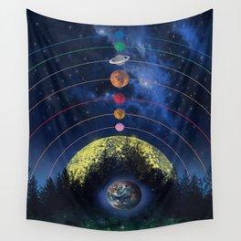solar system Wall Tapestry